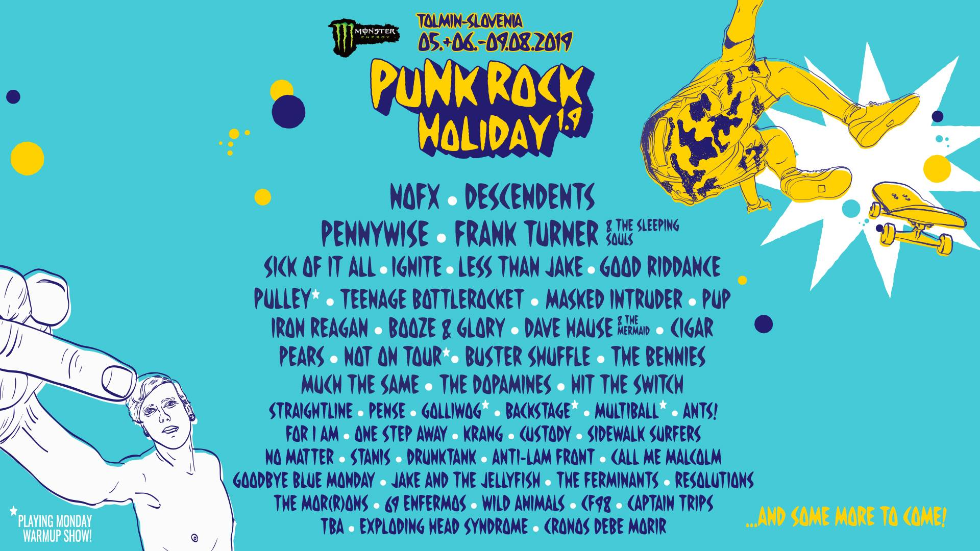 Punk Rock Holiday 2019 - Line-Up