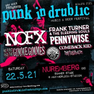Punk In Drublic 2021 in Würzburg