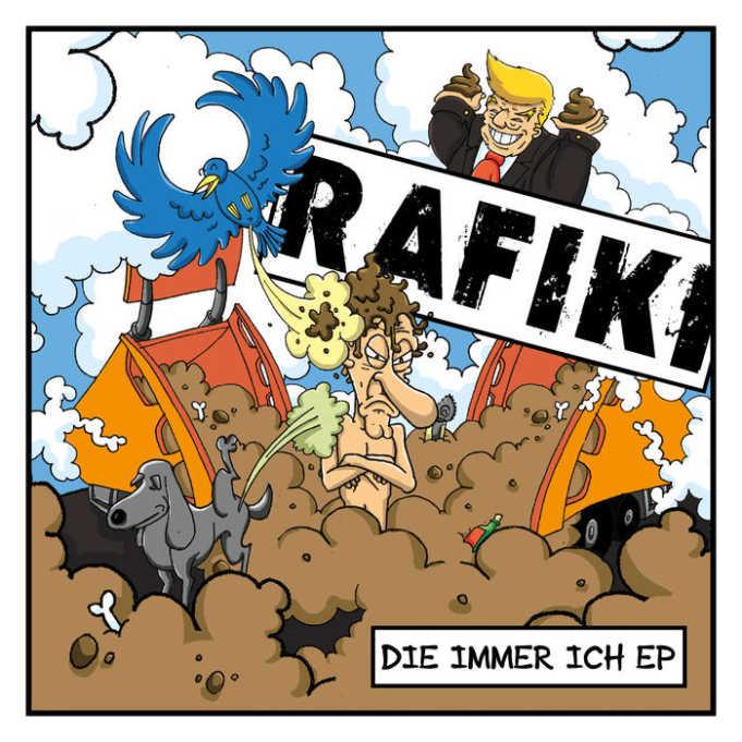Rafiki - Die immer ich EP