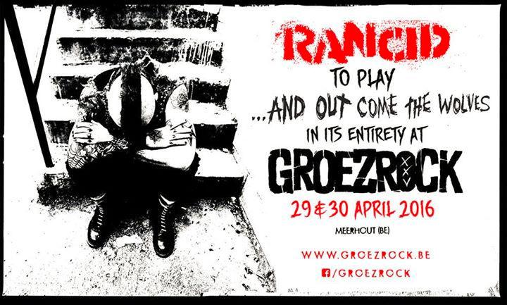 Rancid - Groezrock - 2016