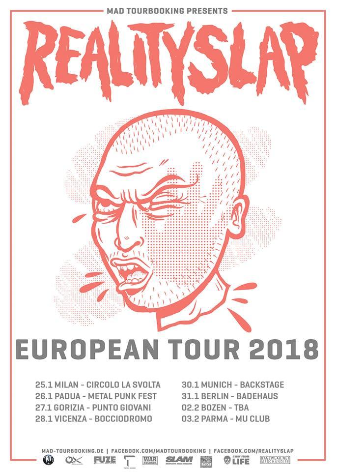 Reality Slap Tour 2018