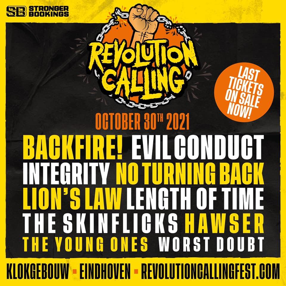 Revolution Calling Festival 2021