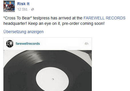 Risk It - Cross To Bear - Testpress