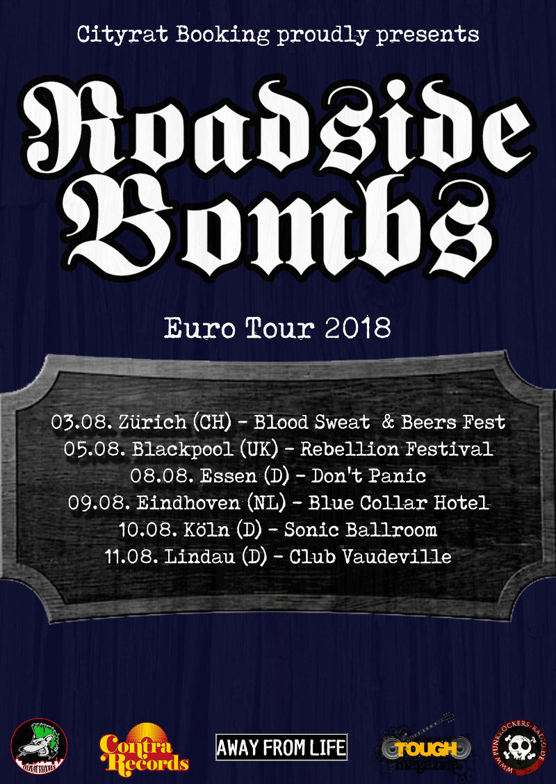 Roadside Bombs - Tour 2018