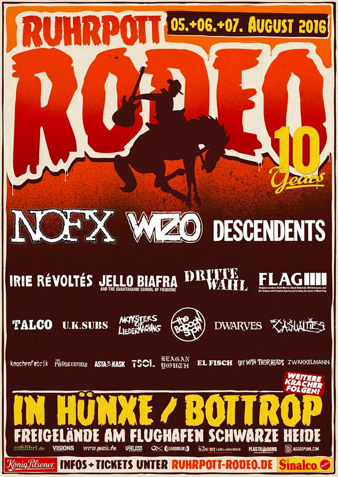 Ruhrpott Rodeo 2016 - Irie Revolite