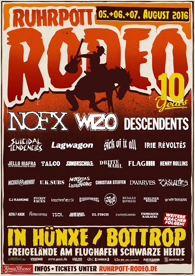 Ruhrpott Rodeo 2016 - Suicidal Tendencies