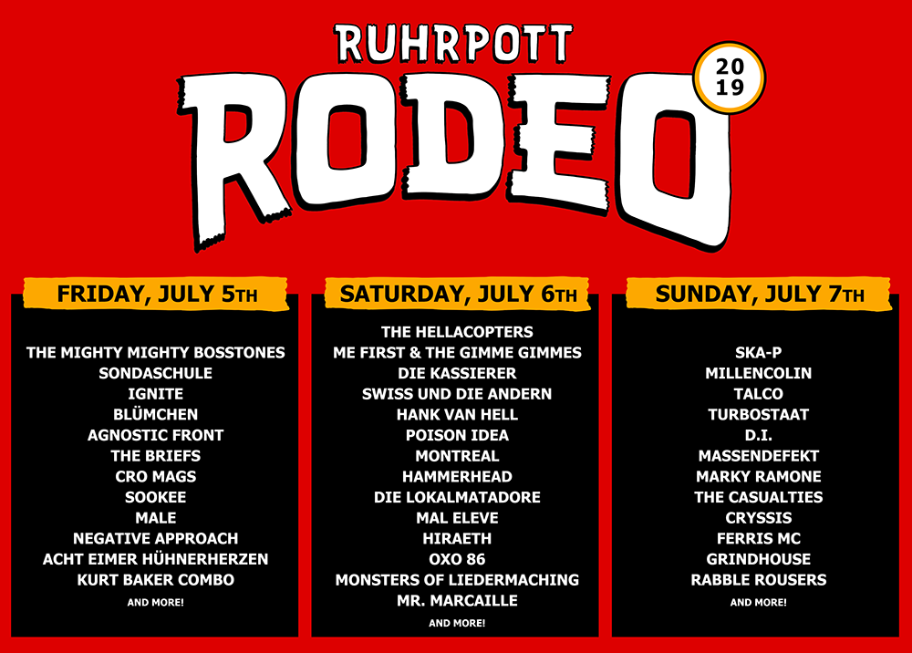 Ruhrpott Rodeo 2019 Verk 252 Ndet Letzte Bands Away From Life