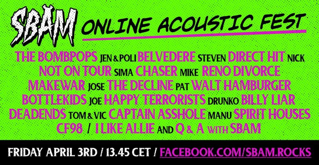 SBAM Online Acoustic Fest 2020