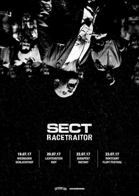 SECT & RACETRAITOR mit gemeinsamer Europa-Tour | AWAY FROM ... Racetraitor Band