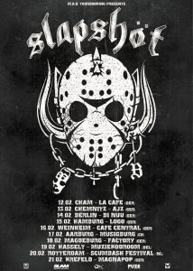 Slapshot - Europe Tour 2016