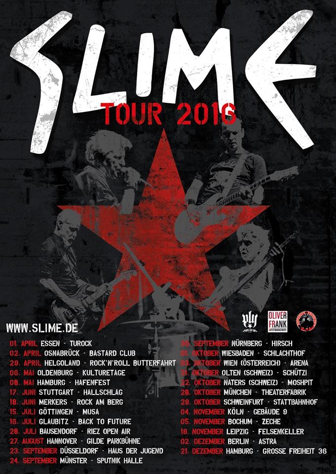 Slime Tour 2016