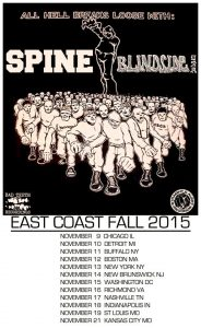 Spine - Blindside - USA Tour 2015