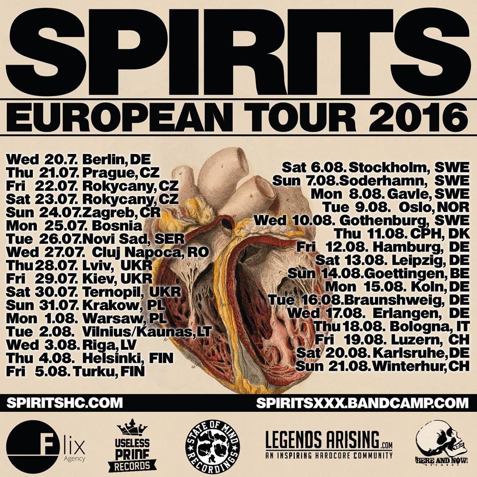 Spirits - Hardcore Tour