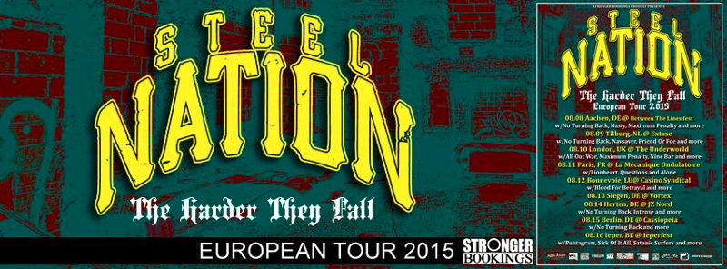 Steel Nation - Euro Tour 2015