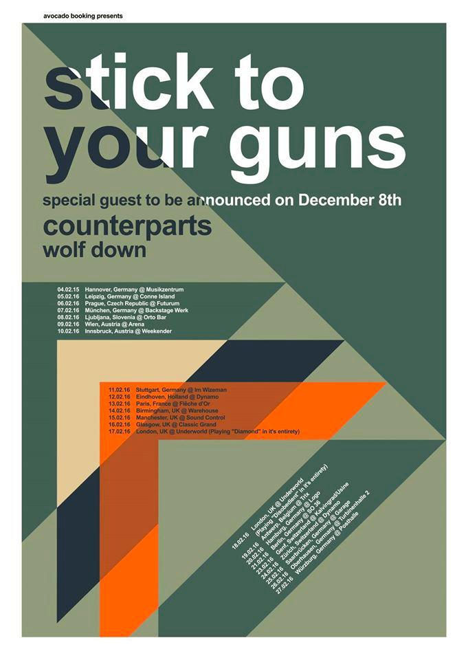 Stick To Your Guns - Tour 2016