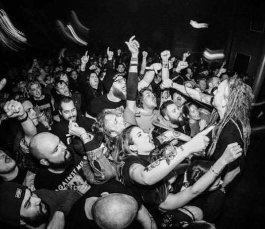 Strike Anyhwere live in Richmond, 2020 (Photo by Julie Ferguson)