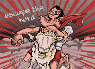 Superhero Status - Escape The Herd