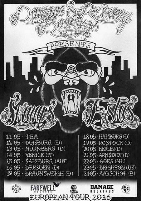 Swamps Europe Tour