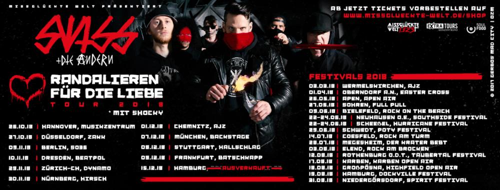 Swiss & Die Andern - Live 2018