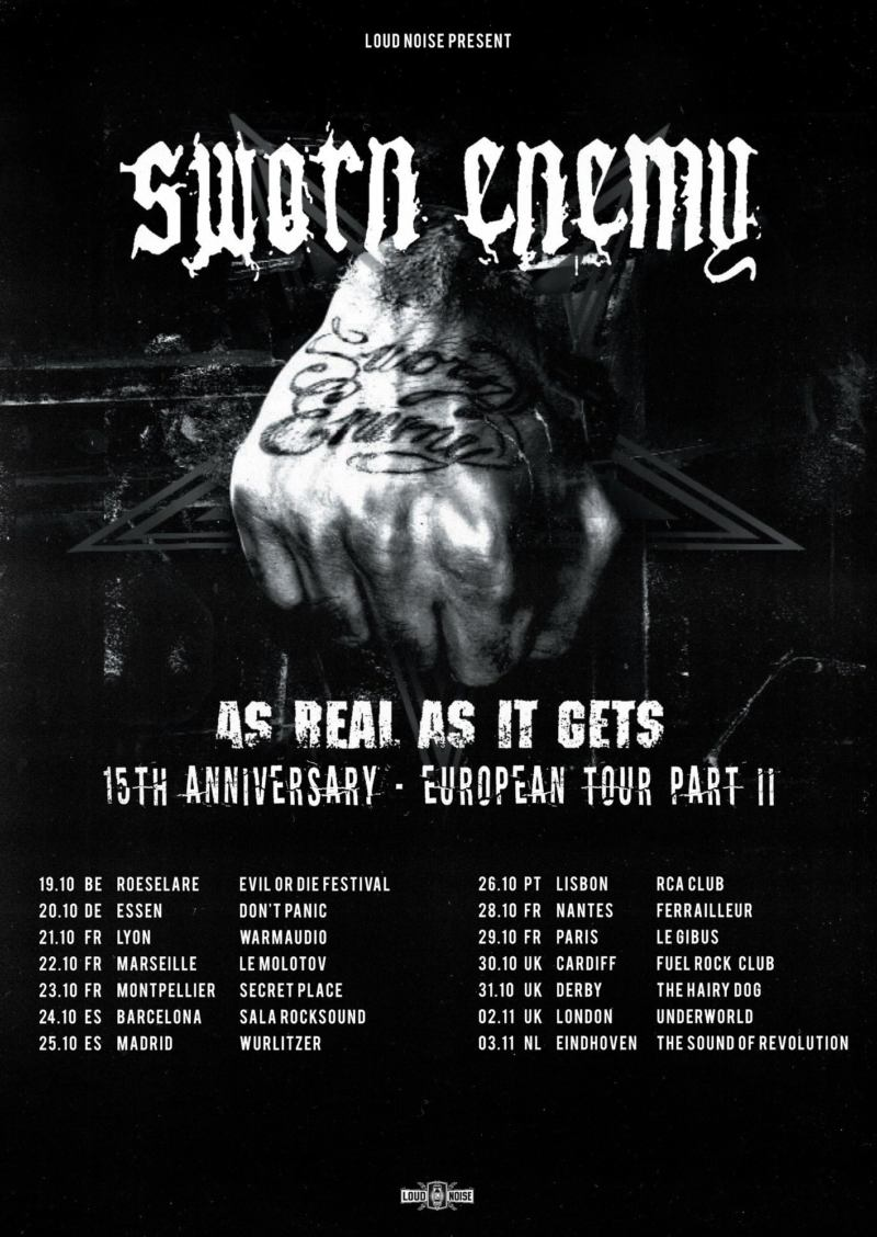 Sworn Enemy - Fall-Tour 2018