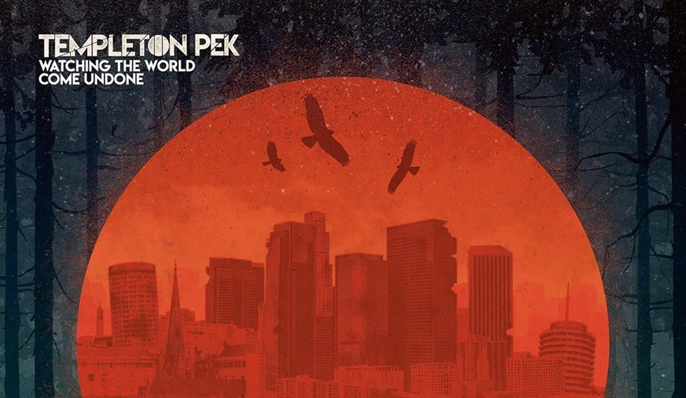 Templeton Pek - Watching The World Come Undone Cover