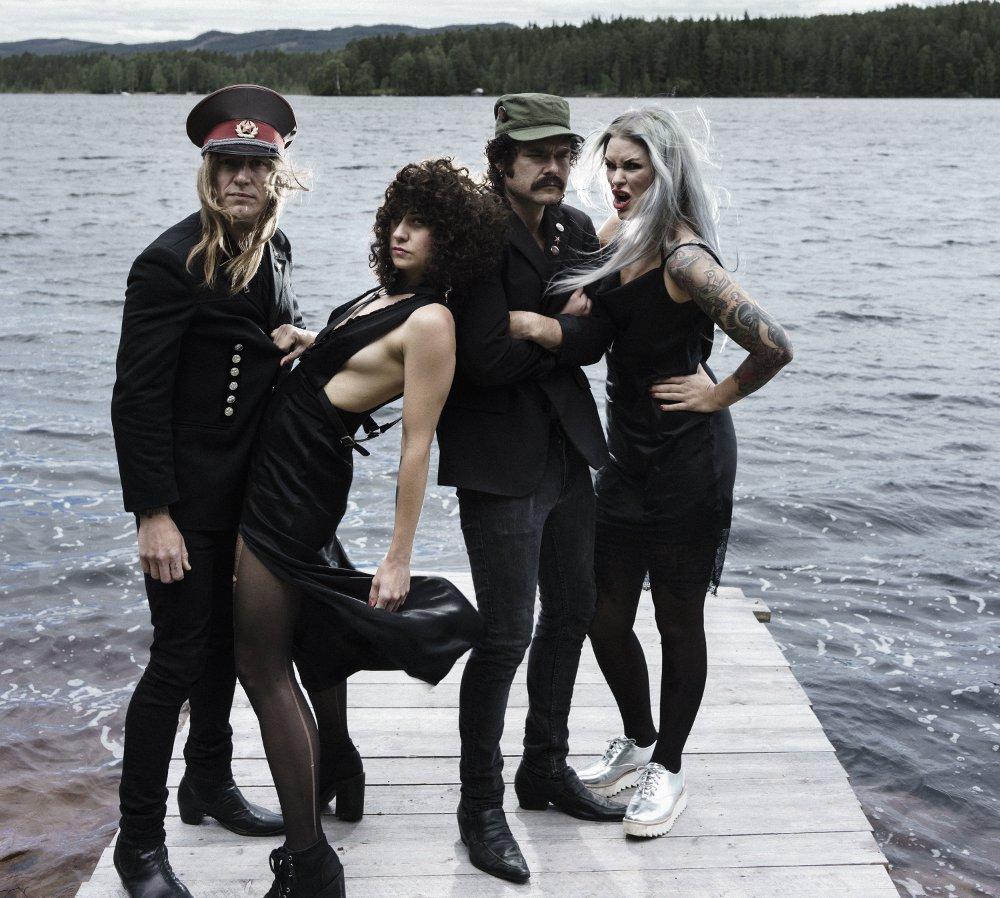 The Baboon Show - Punk-Rock Band Schweden - Female Fronted
