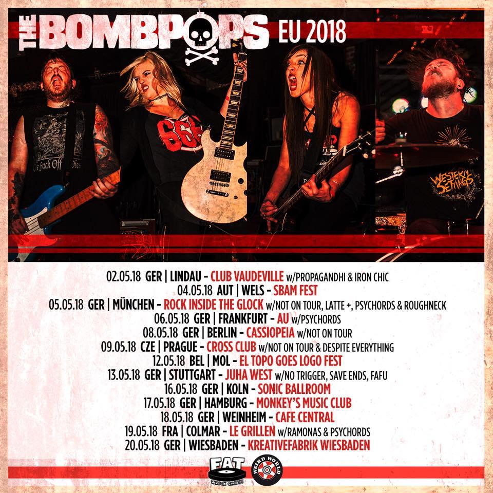 The Bombpops - Tour 2018