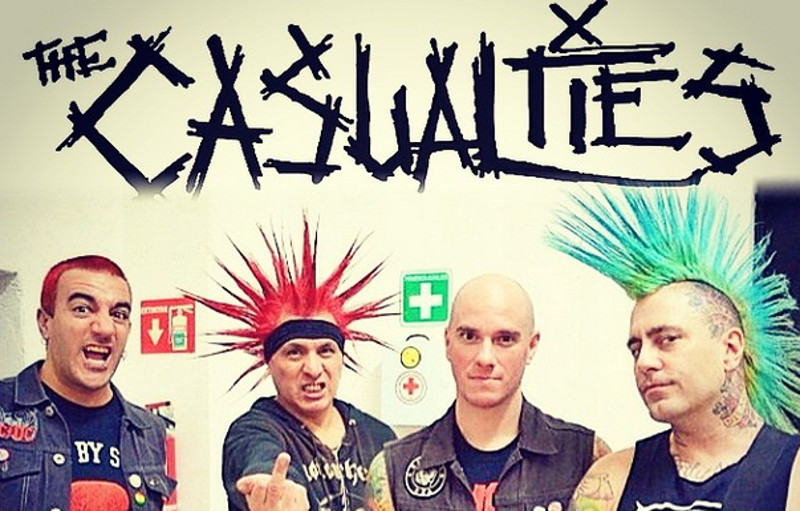 The Casualties 2015
