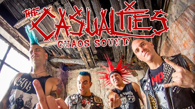 The Casualties - Chaos Sound - Street-Punk Band