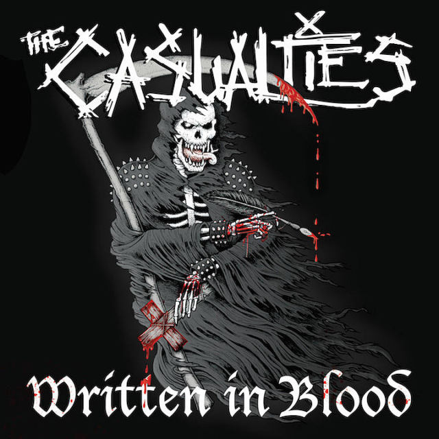 The Casualties - Written in Blood - 2018