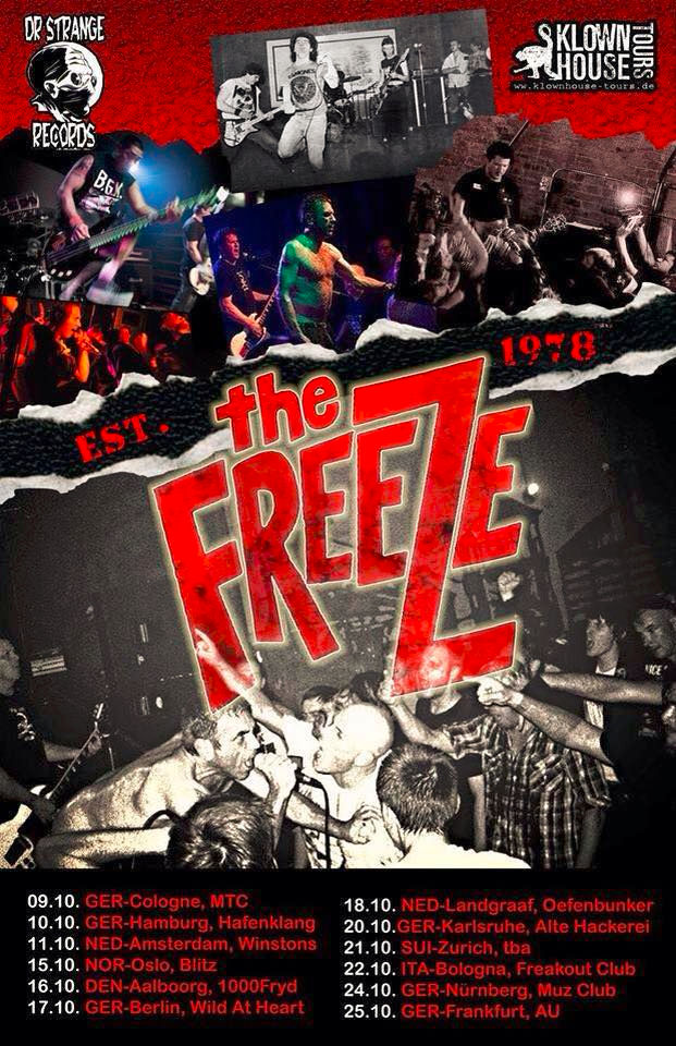 The Freeze - Euro Flyer