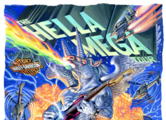 The Hella Mega Tour 2020 mit Green Day, Weezer, The Interrupters