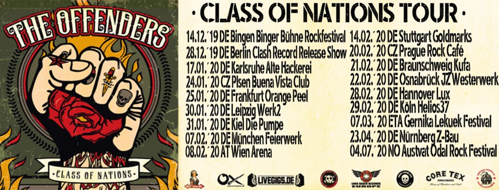 The Offenders - Class Of Nations-Tour