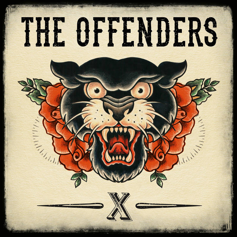 "The Offenders Albumcover zu ""X"""