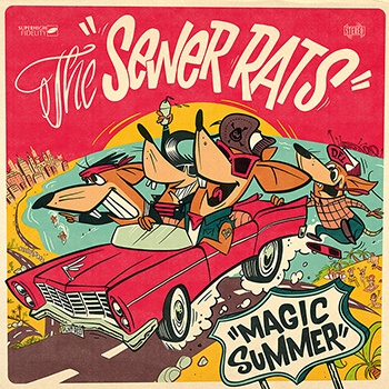 The Sewer Rats - Magic Summer (2020)