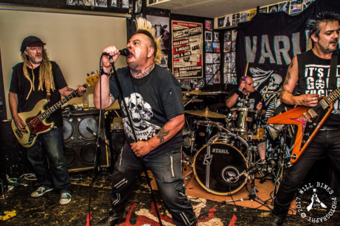 The Varukers - Photo by Will Binks Photography