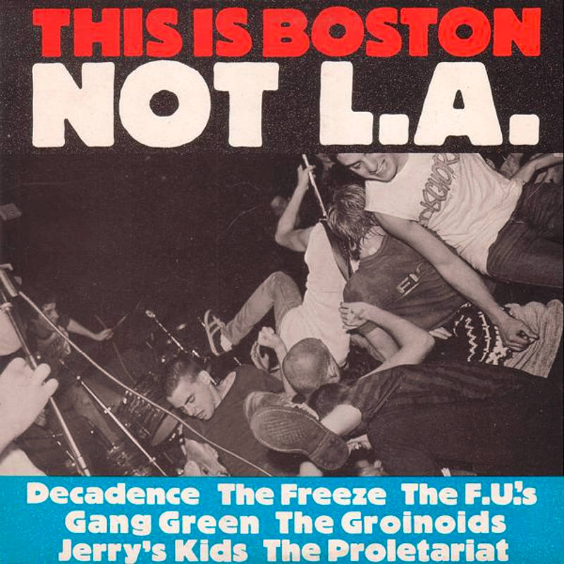 "Cover des legendären Sampler ""This Is Boston Not LA"" mit The Freeze."
