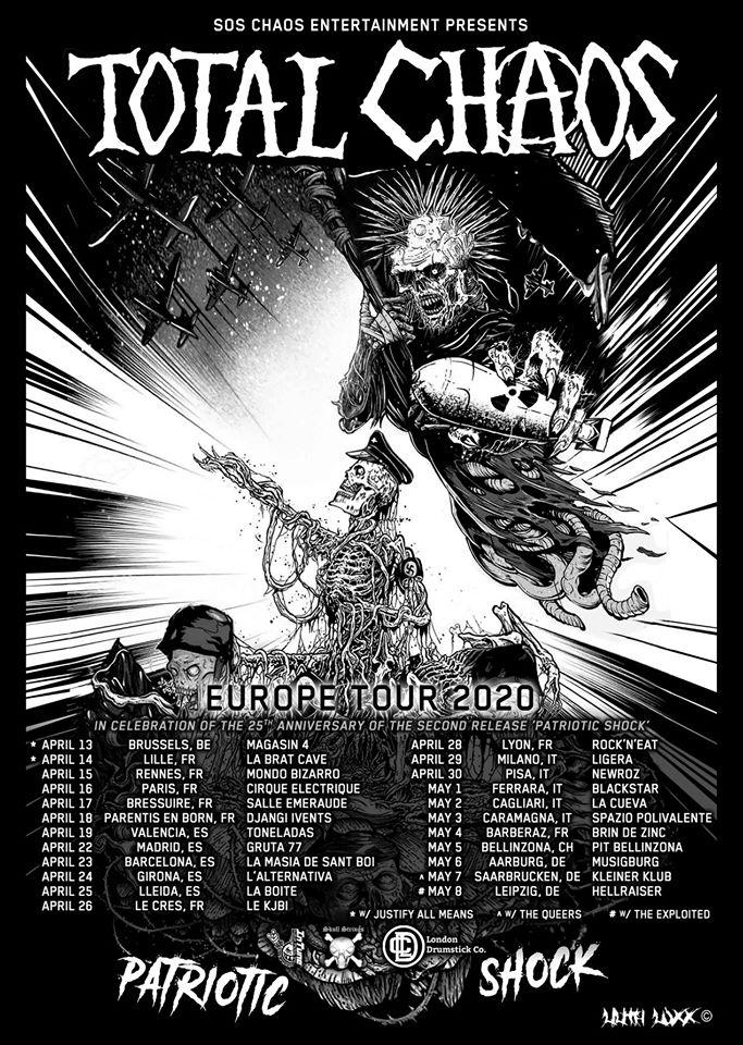 Total Chaos - Europa-Tour 2020