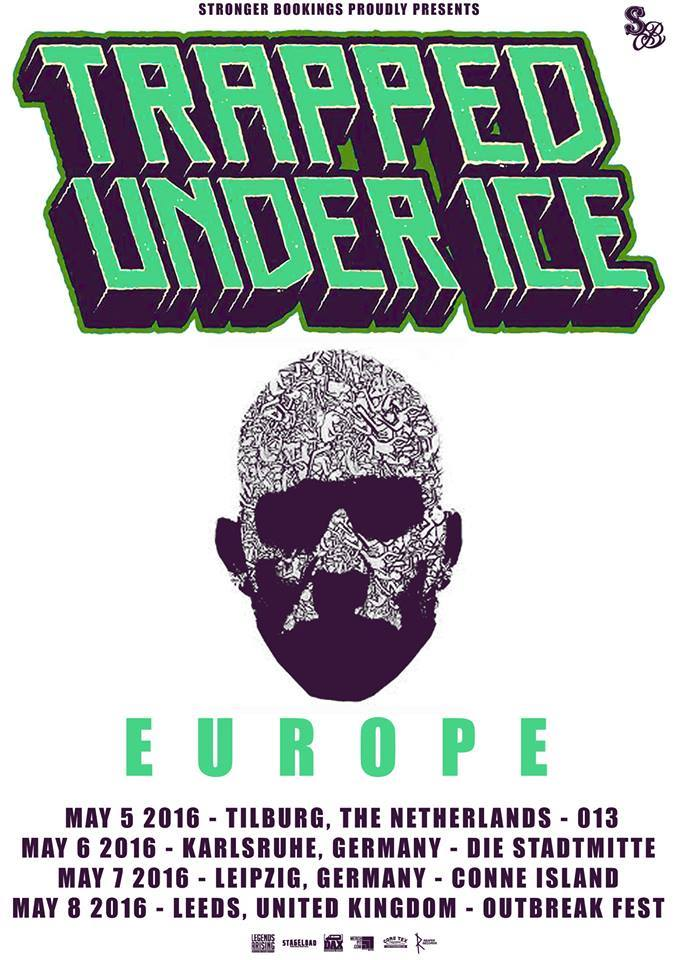 Trapped Under Ice Tour 2016