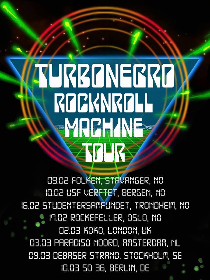 Turbonegro - Rock'n'Roll Machine 2018