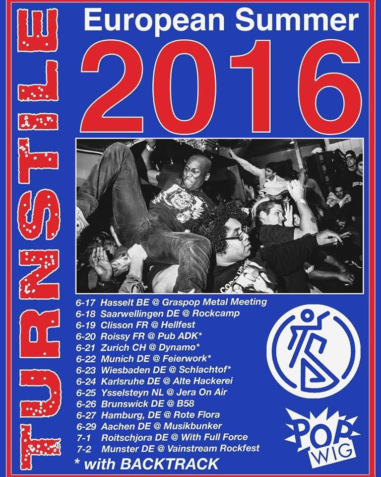 Turnstile - Tour 2016