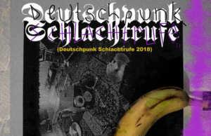 Various Artists - Deutschpunk Schlachtrufe 2018 Sampler (Cover)