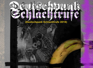 Various Artists - Deutschpunk Schlachtrufe 2018 Sampler (Cover)