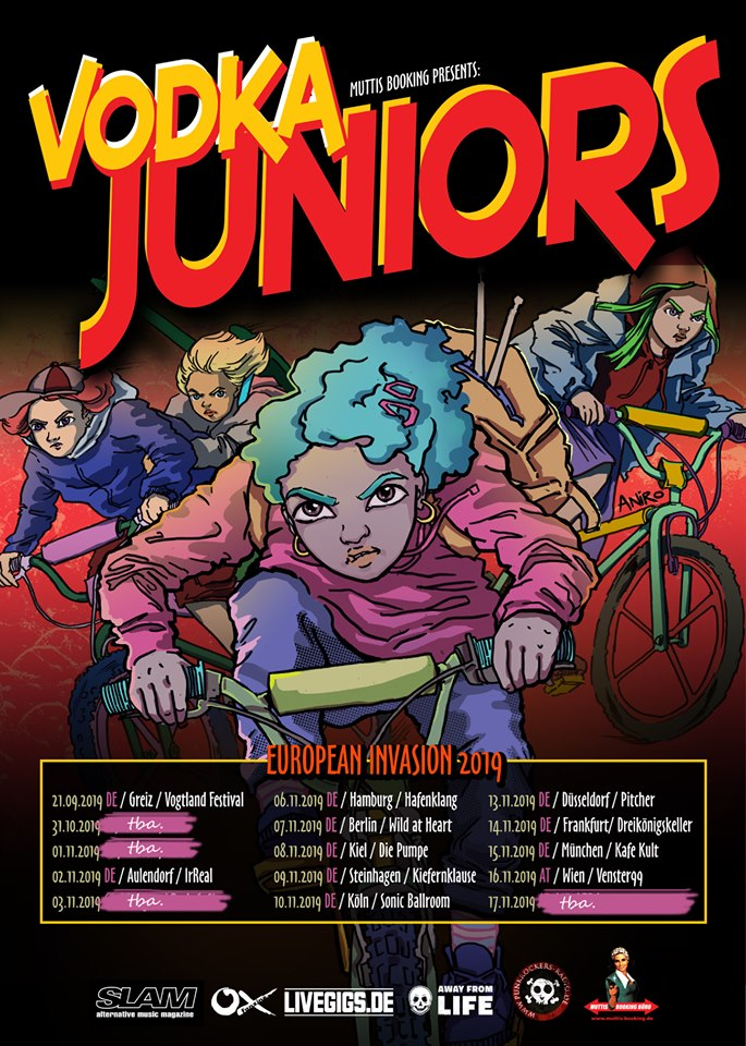 Vodka Juniors - Europa-Tour 2019