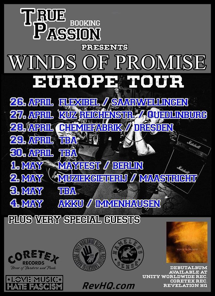 Winds Of Promise - Tour 2019
