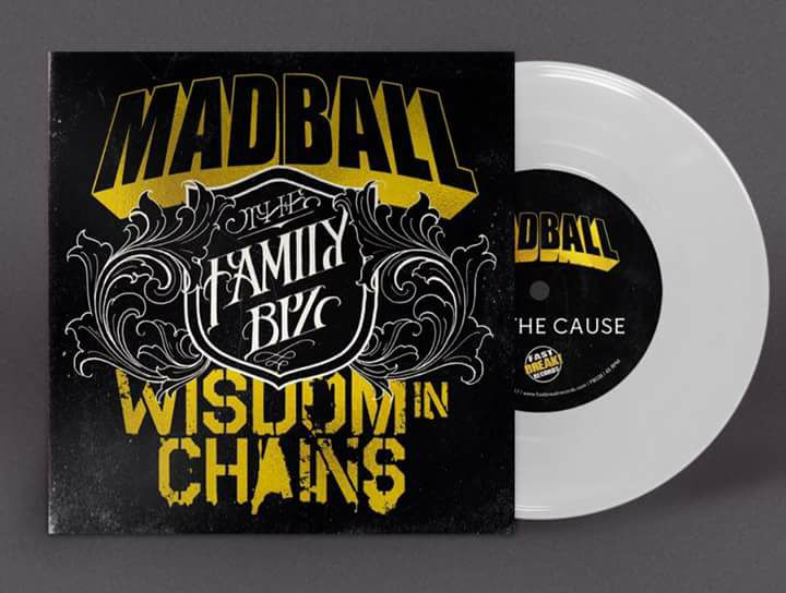 Cover der Madball / Wisdom In Chains Split