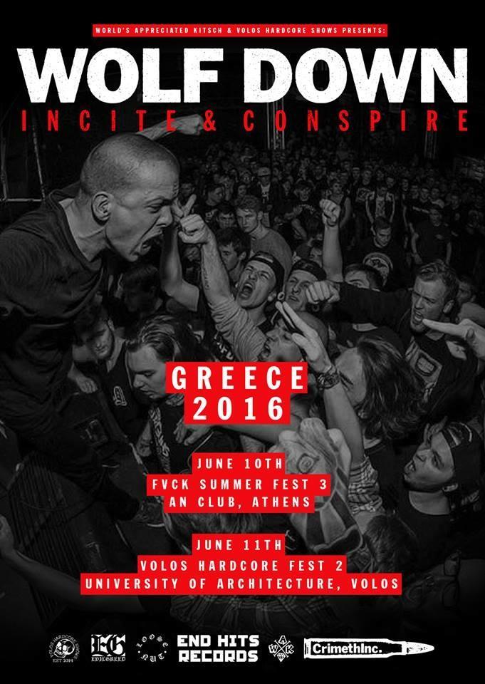 Wolf Down - Greece 2016