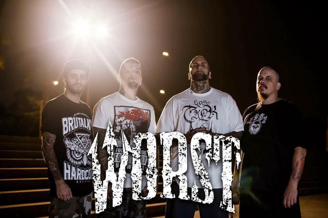 Worst - Hardcore Band Brasilien