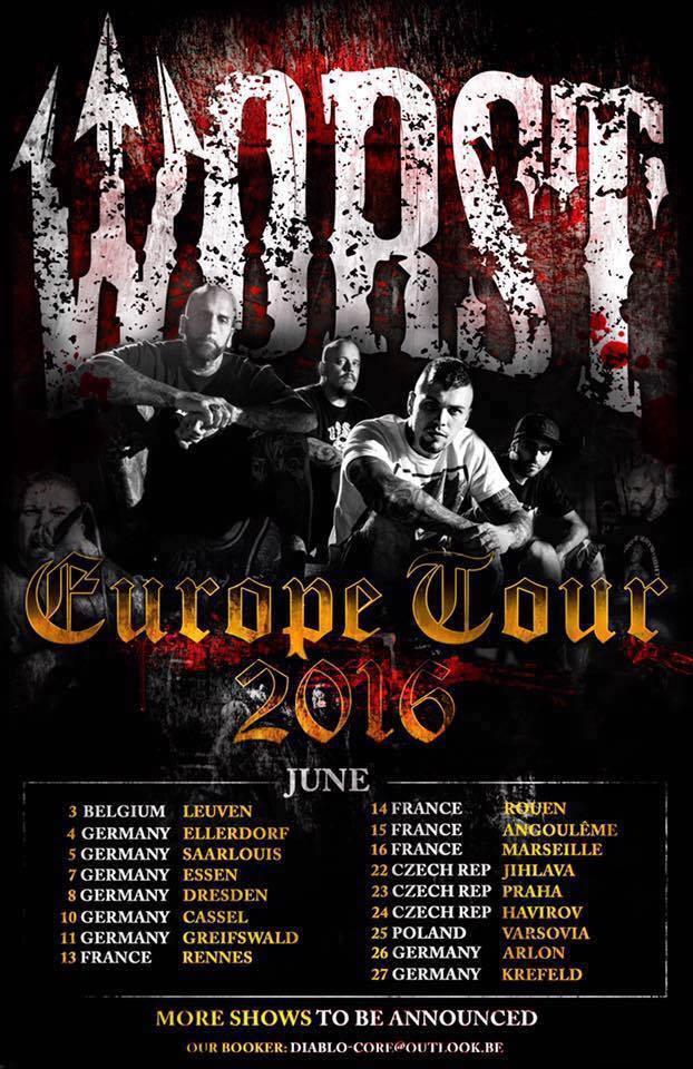 Worst - Tour 2016