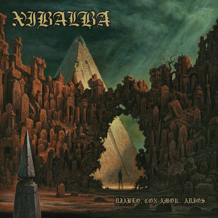 Xibalba - Diablo, Con Amor...Adios (2017) - EP Artwork
